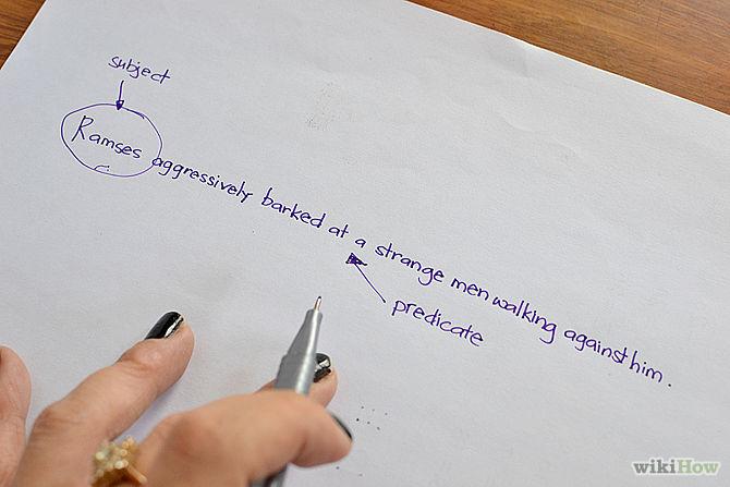 how to write a declarative sentence