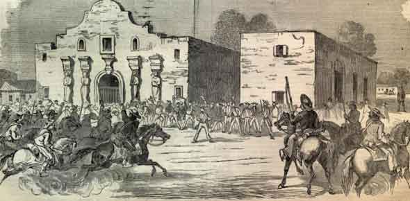 essays on the battle of the alamo The volunteers than occupied the alamo and strengthened its already fortified defenses after losing san antonio to the texans during the siege of bexar.