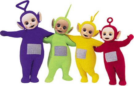 telly tubby dance counts telly tubby