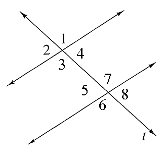 Lines and angles quiz questions proprofs quiz for What are alternate exterior angles