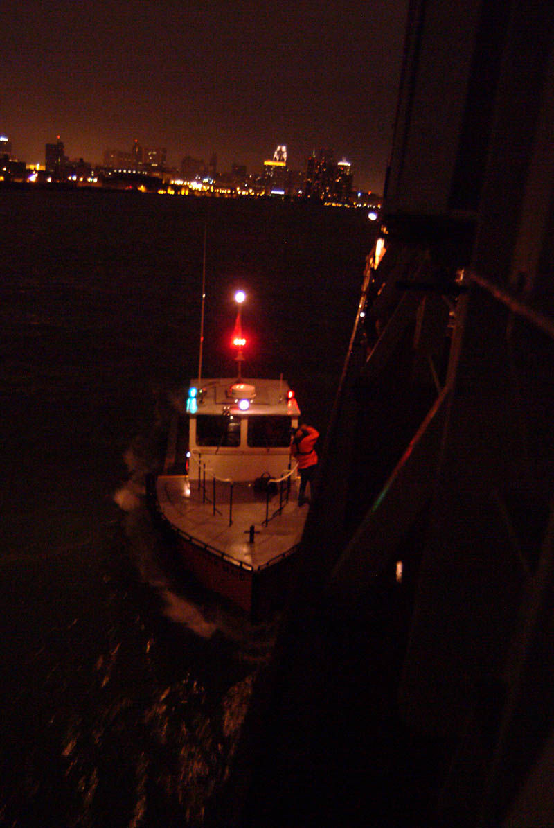 navigation light patterns and collision   2 images