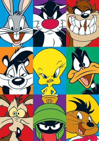 Looney Tunes Coloring Pages looney-tunes-2 – 101ColoringPages.com