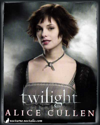 Twilight Characters Alice Character is Alice Cullen