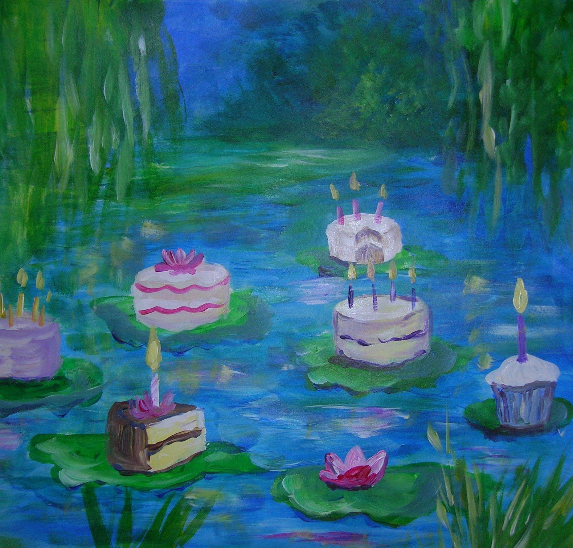Awe Inspiring Artsy Birthday Cakes Proprofs Quiz Easy Diy Christmas Decorations Tissureus