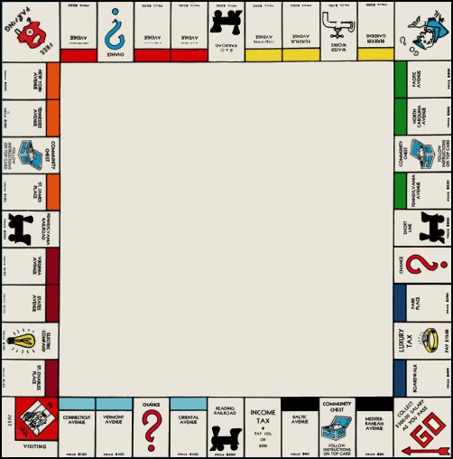 Monopoly Board Game. game? Monopoly