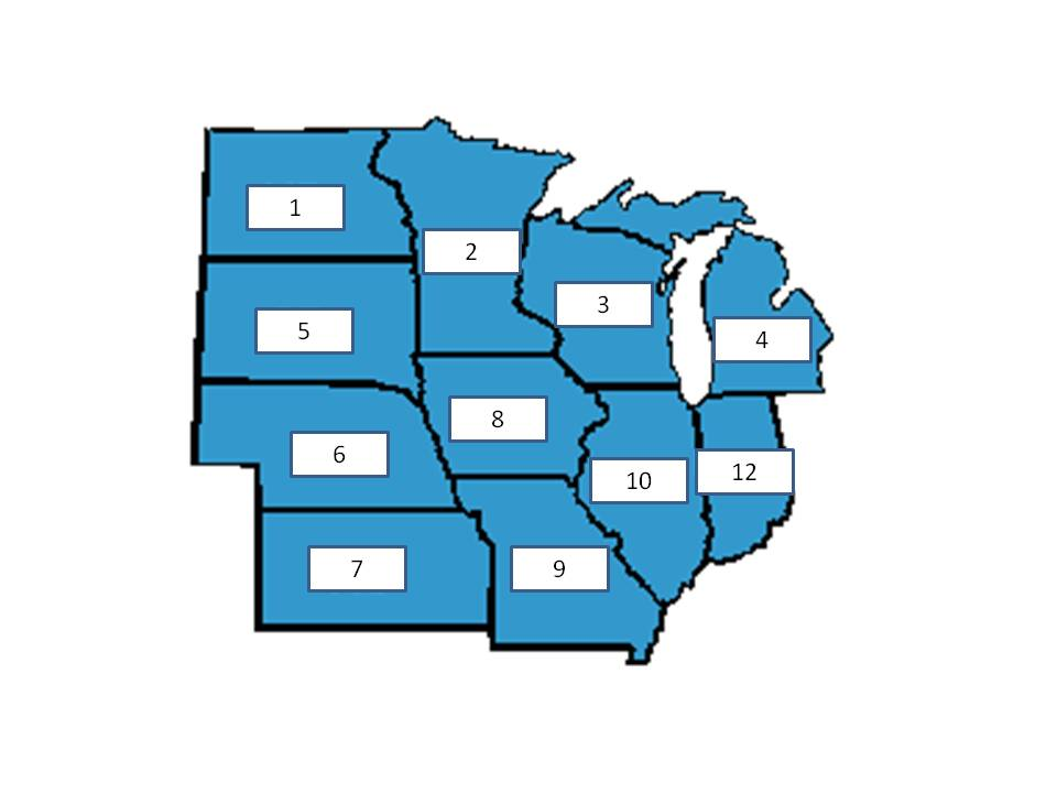 Which USA states is in at number 3 in the below figure  ProProfs