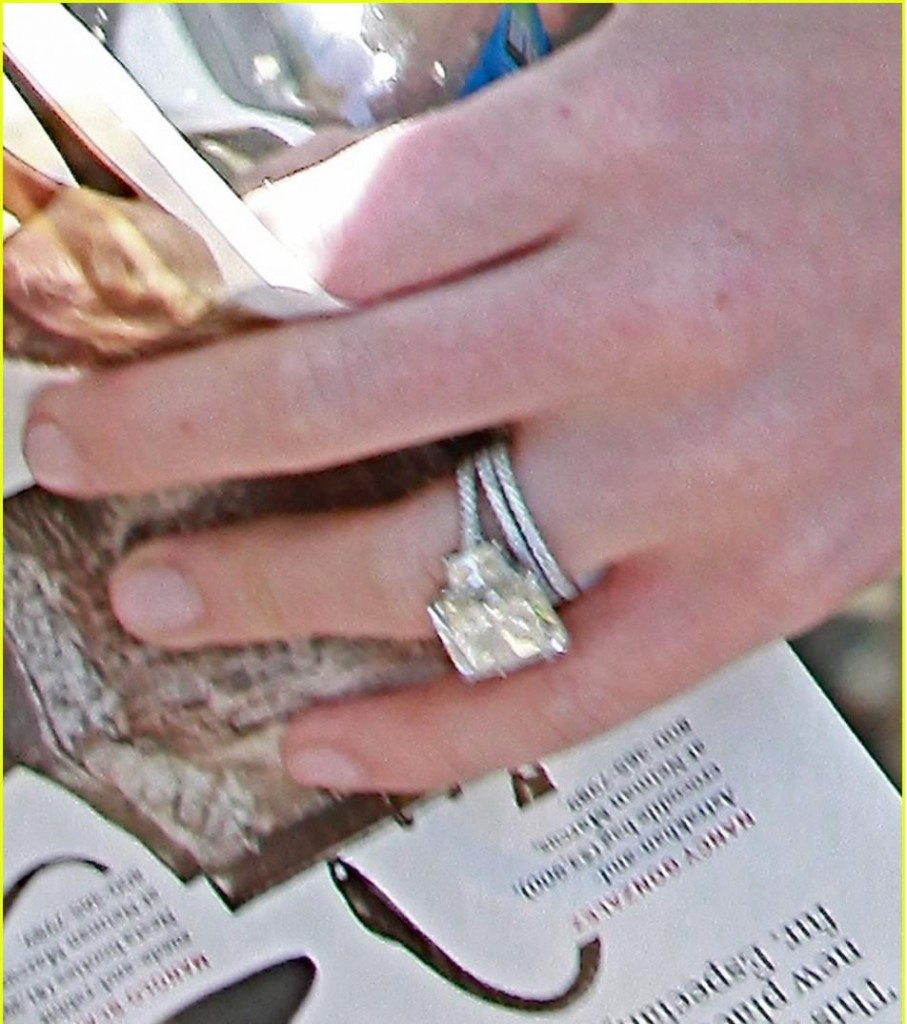 guess the celebrity engagement rings - Hilary Duff Wedding Ring