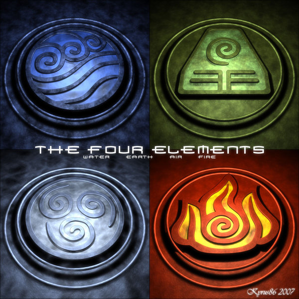 Avatar the Last Airbender Four Elements
