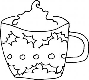 christmas english coloring pages - photo#35