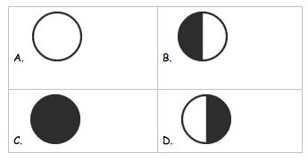 Worksheet Phases Of Moon Quiz fourth grade science assessment sun moon earth relationship relationship