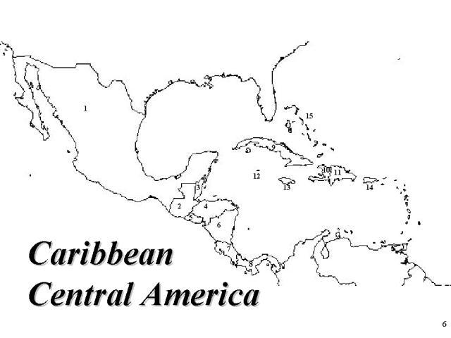 Central America Map Quiz
