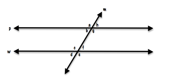 6 4 1 parallel lines and transversals proprofs quiz - Which of the following are exterior angles ...