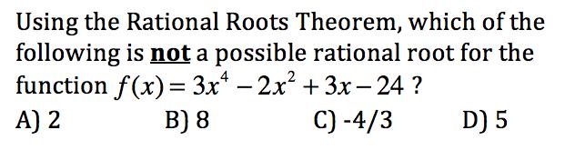 Pre-calculus Chapter 2 Test - ProProfs Quiz