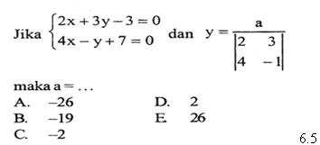 Matematika System Persamaan