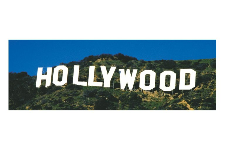 Snowing in Hollywood