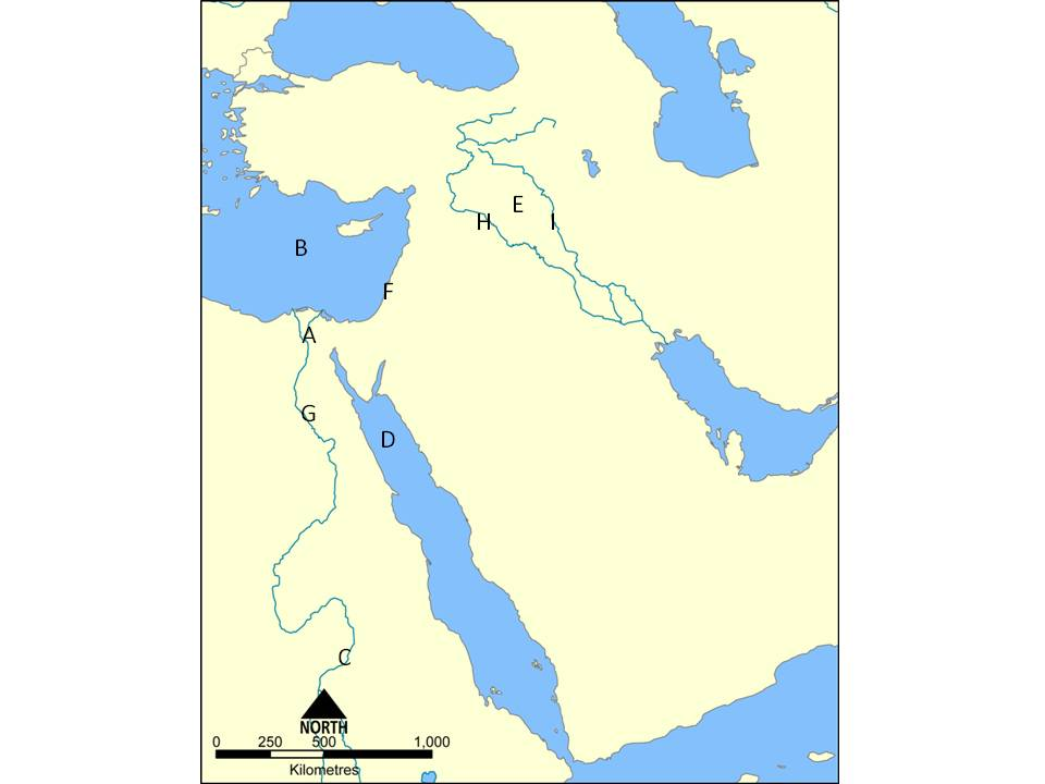 Eastside Prep Ancient Civilizations And Their Wars ProProfs Quiz - Map of egypt quiz
