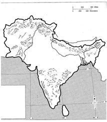 Ancient India Map Harappa