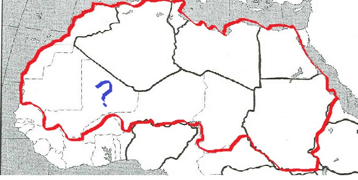 Northern Africa Map Quiz   ProProfs Quiz