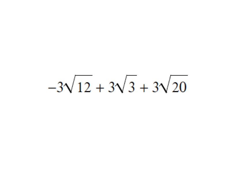 how to add or subtract radicals
