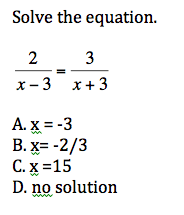 Algebra II Final Exam Practice Quiz 3