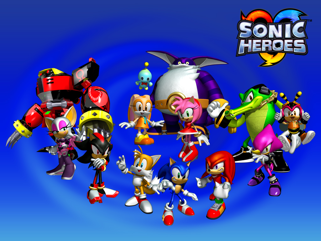 Who are you? Sonic, Knuckles, Rogue, Amy or Cream?