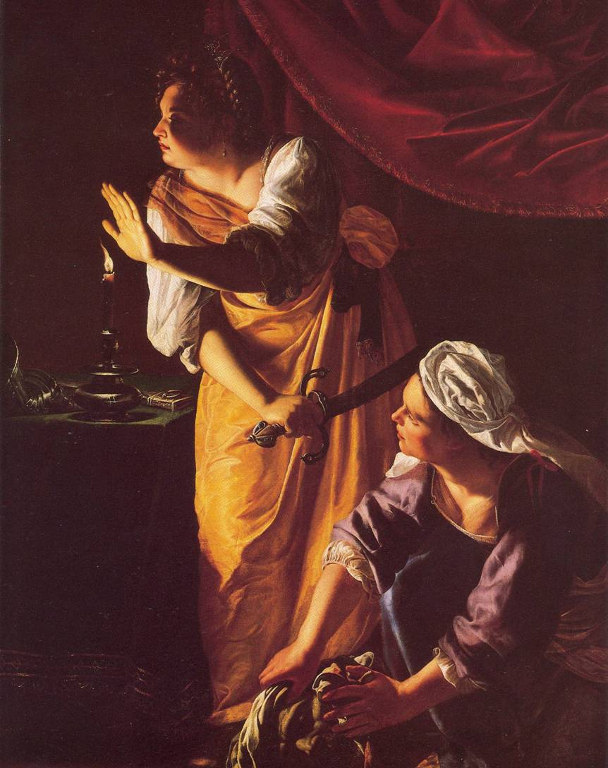  Gentileschi Holofernes Judith
