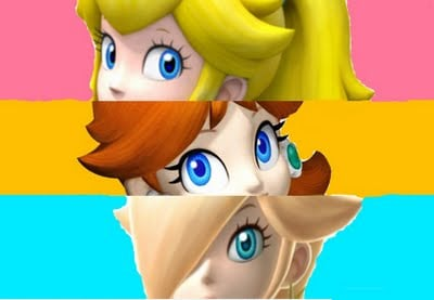 Which princess are you? Princess Peach, Daisy, or Rosalina