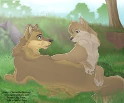 The Power Of Wolf-Love.. - YouTube  Two Wolves In Love Anime