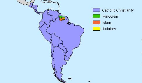 general essay on religion in latin america