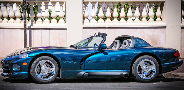 My favorite car is the Dodge Viper. I know it's neither the best nor the fastest supercar but