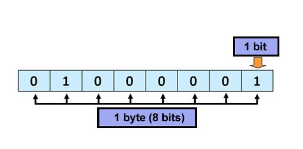 Information technology quiz questions proprofs quiz how many bits make a byte ccuart Gallery