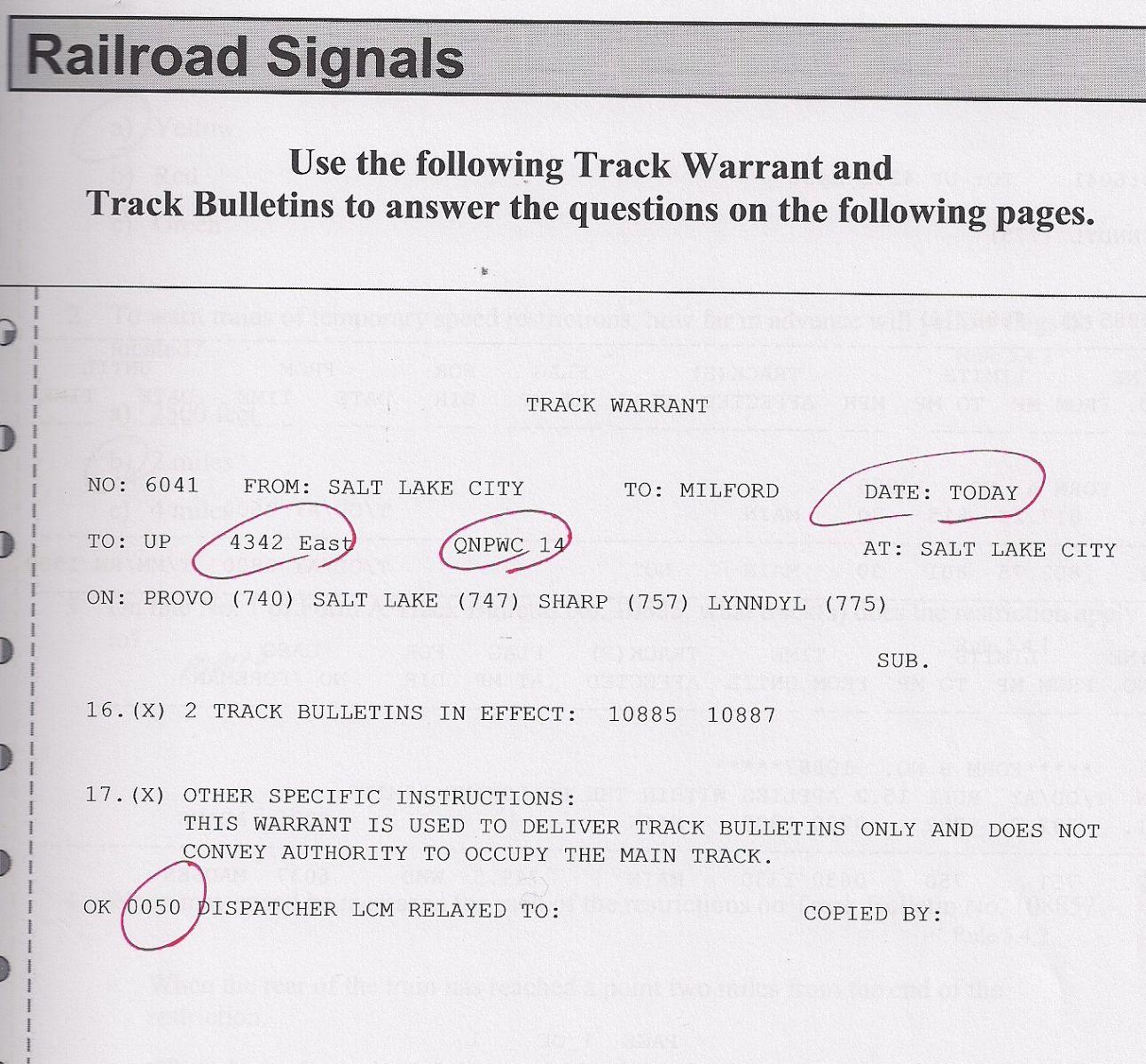 gcor railroad signals quiz 41 questions proprofs quiz rh proprofs com Gcor 7th Edition Gcor Manual for Railroads