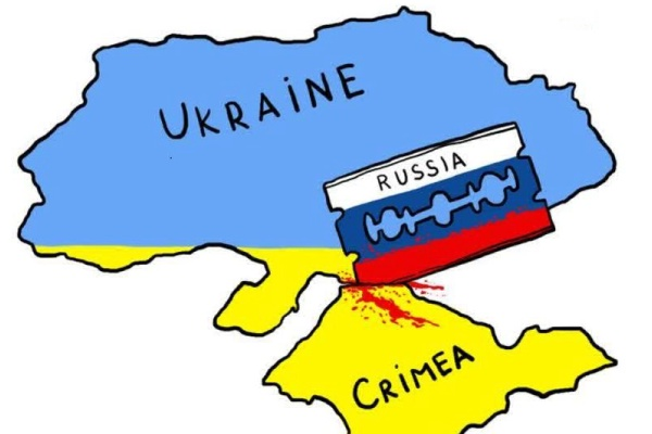 Crimea was a Ukranian territory since 1953 but was annexed by the Russian Federation in early 2014