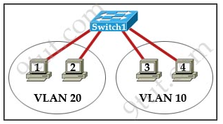 A Quiz On CCNA  Vlan Questions