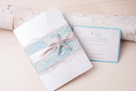Starfish Wedding Invitation Kit: What Wedding Style Are You?!
