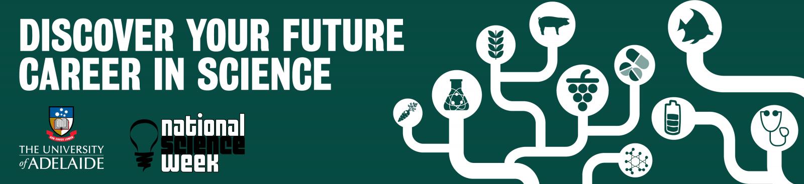 National Science Week Future Scientist Career Quiz banner image