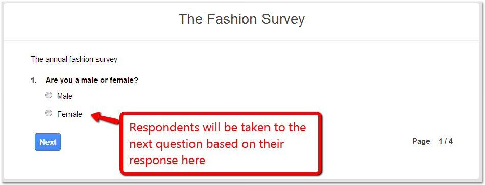 The Fashion Survey