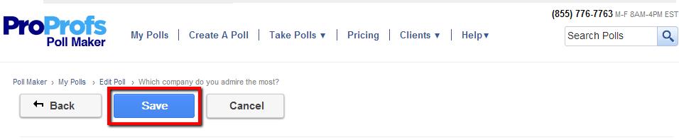ProProfs Poll Maker