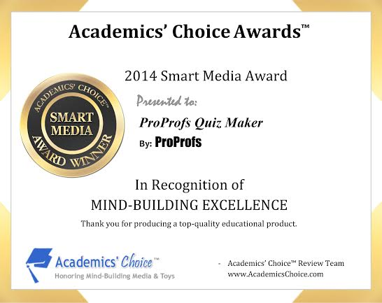Academic Choice Award