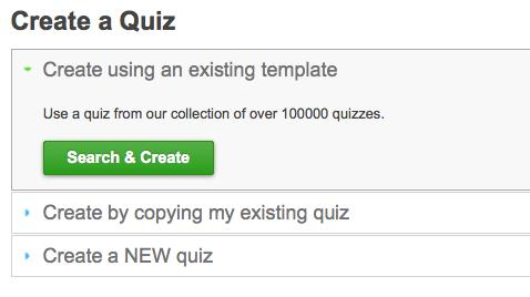 Quiz Templates Save You Time - ProProfs Learning and Knowledge ...