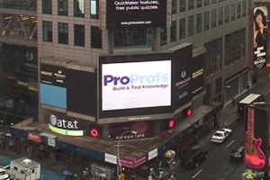 ProProfs Times Square