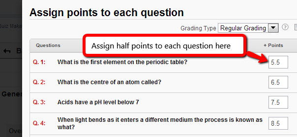 Edit Setting in ProProfs Quiz Maker