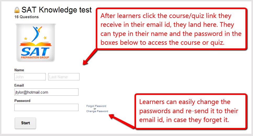 SAT Knowledge Test