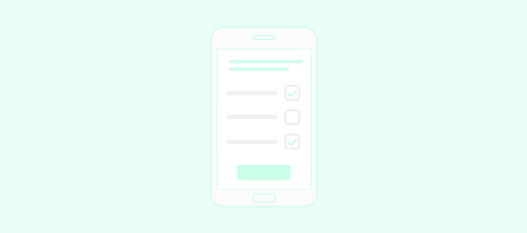 response -with mobile surveys