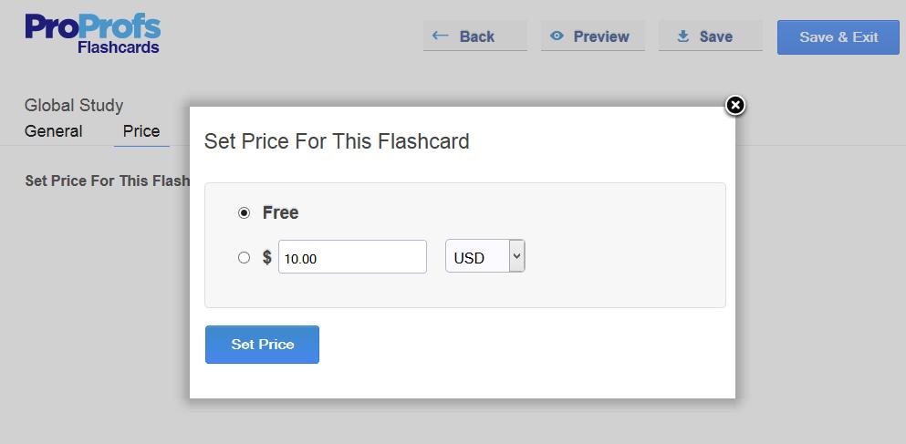 ProProfs Flashcard Maker