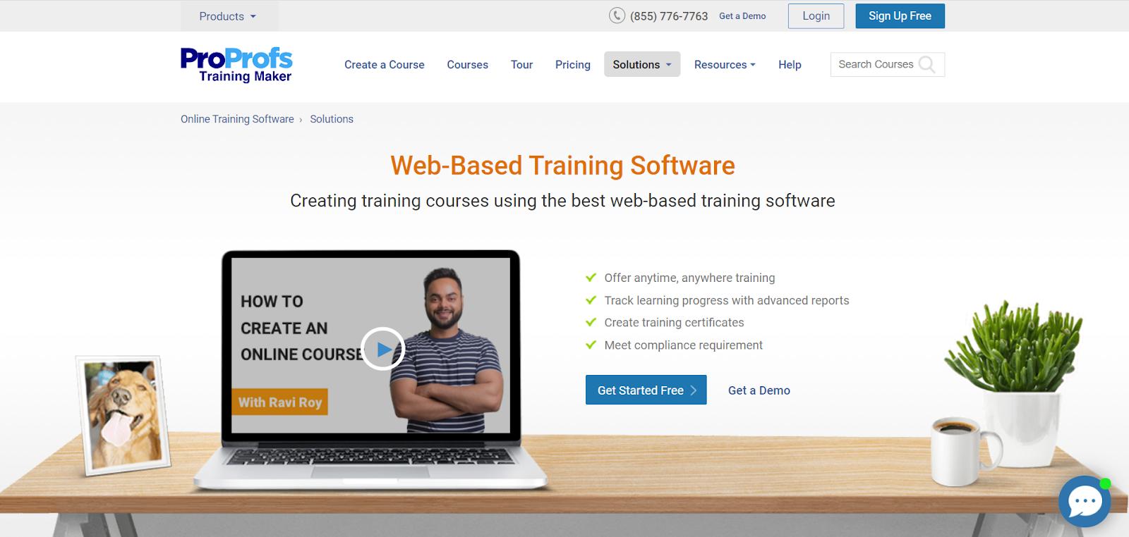 ProProfs Web-Based Training Software