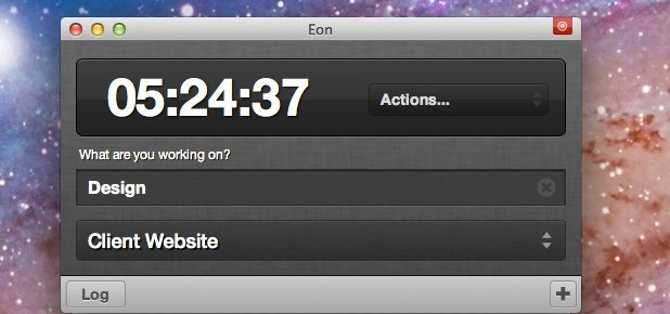 Desktop Time Tracking App