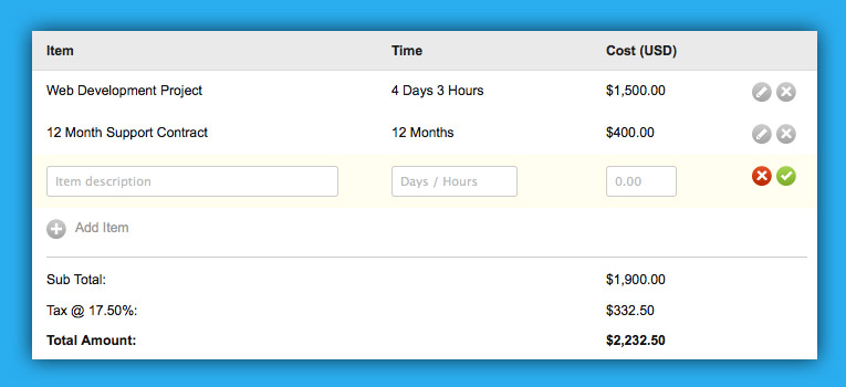 Invoicing Made Simple!