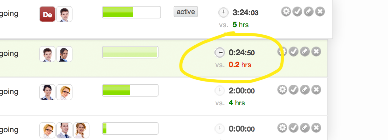 Track Time on Sub-tasks