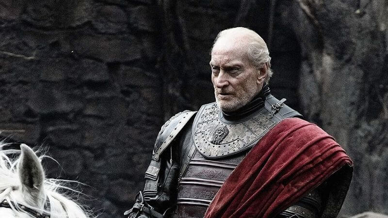 Tywin Lannister sitting on horse